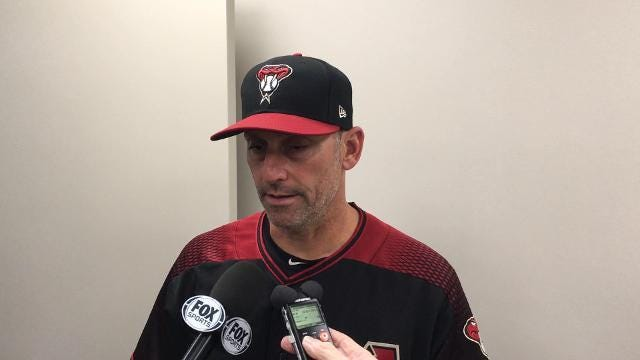 Torey Lovullo after D-Backs lose again vs. Braves