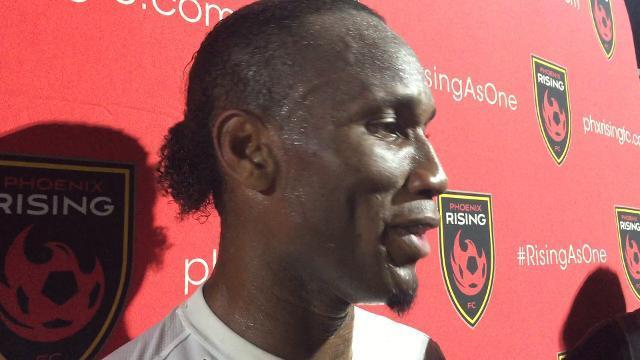 Didier Drogba on Phoenix Rising win