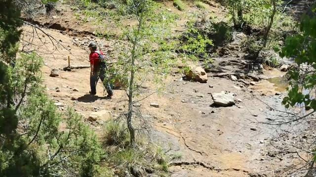 Search continues for missing man after flash flood near Payson