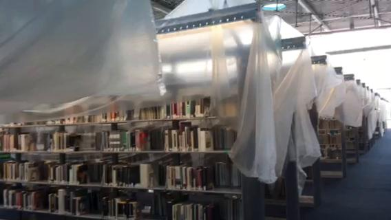Burton Barr Library in Phoenix recovering after monsoon damage