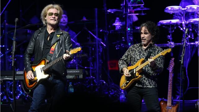 Daryl Hall and John Oates performed at Gila River Arena, Monday, July 17, 2017. What songs were on their setlist? (Photos by Mick Rock/Courtesy, Patrick Breen/The Republic)
