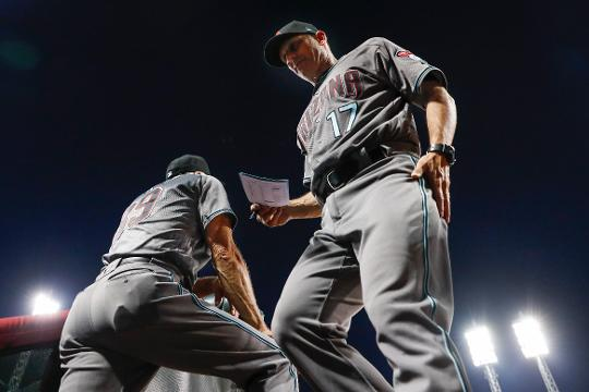 Diamondbacks manager Torey Lovullo talks about his team's offensive breakout on Tuesday and about the potential impact of newly acquired slugger J.D. Martinez.