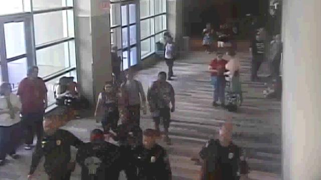 Footage of Phoenix Comicon arrest