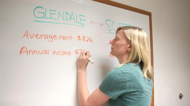 Many teachers are outpriced in Scottsdale. And if you make minimum wage? Well, you might as well forget it, columnist Joanna Allhands says.