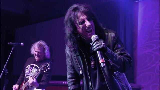 Alice Cooper will return to the Fox Cities Performing Arts Center in April