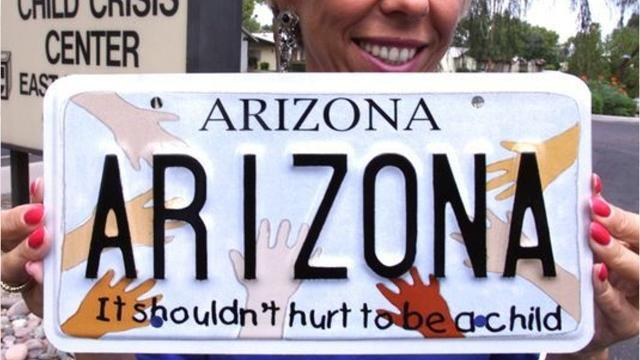 Arizona's Child Abuse Prevention License Plate Program