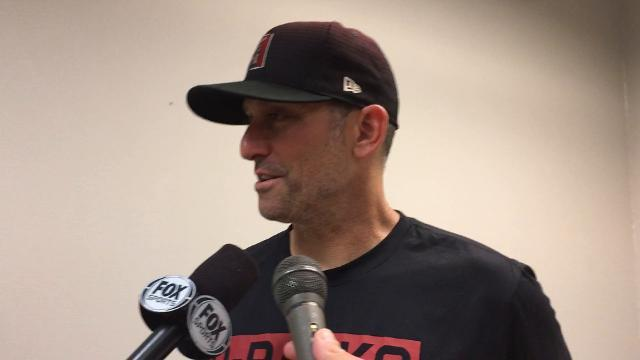 Torey Lovullo on Corbin's outing, series victory vs. Reds