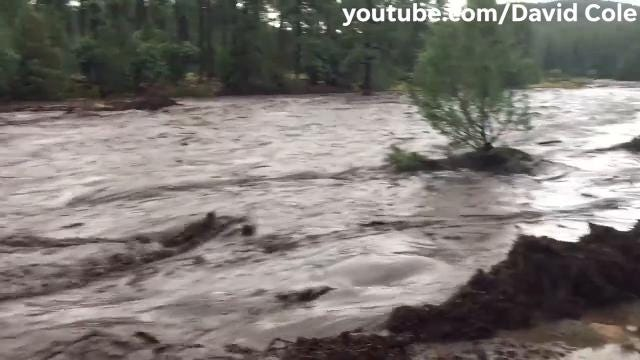 RAW VIDEO: Deadly flash flood near Payson