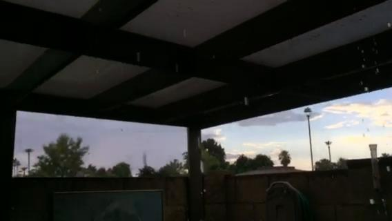 Monsoon storm in Phoenix