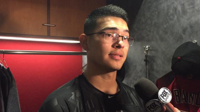 Anthony Banda talks about his MLB debut