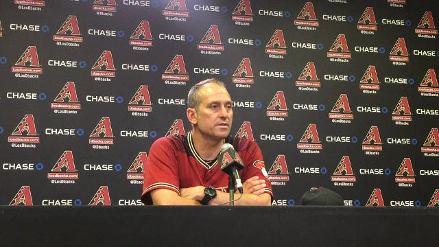 Torey Lovullo and Robbie Ray discuss Diamondbacks' loss to Nationals