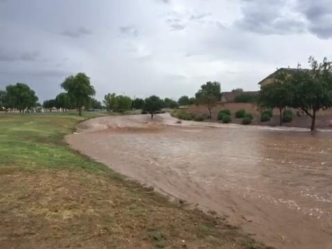 San Tan Heights flooding