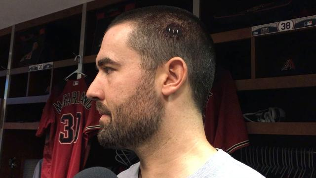 Robbie Ray talks about the line drive that hit him