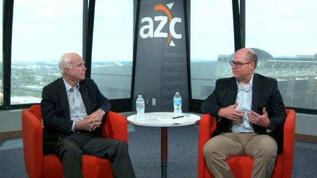 Sen. John McCain on going back to work full time