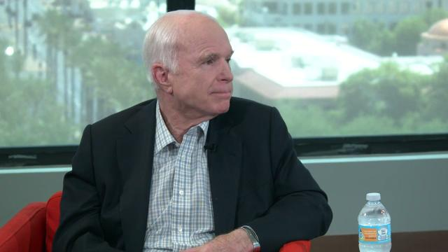 Sen. John McCain on his health and treatment