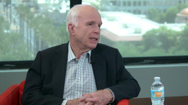 Sen. John McCain on Trump's immigration policy