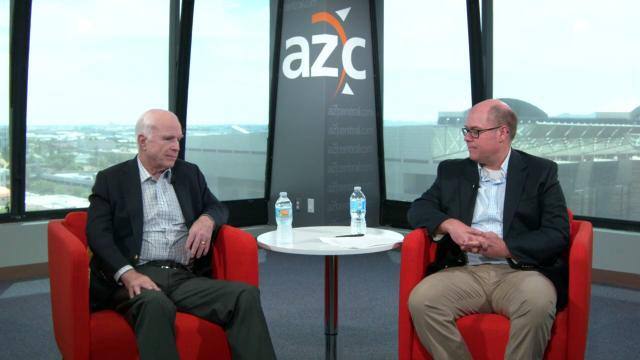 Sen. John McCain on Trump and Russia