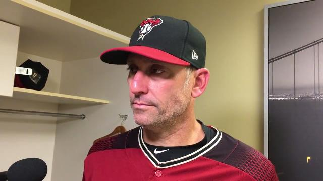 Torey Lovullo on disappointing finish to D-Backs' trip