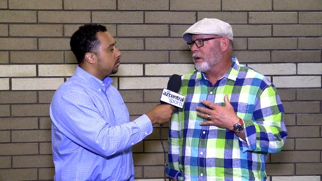 Greg Moore and Bruce Arians talk charities