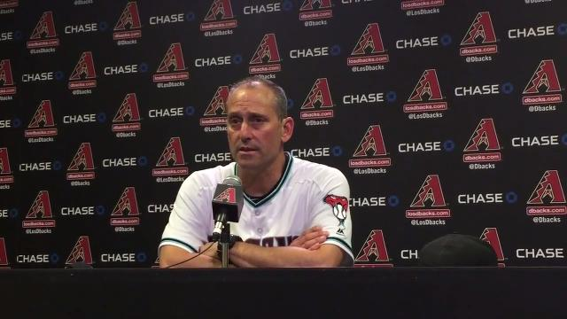 Torey Lovullo on D-Backs' 'pretty special' win over Dodgers