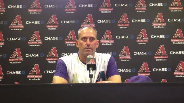 Torey Lovullo on his team's loss to the Dodgers