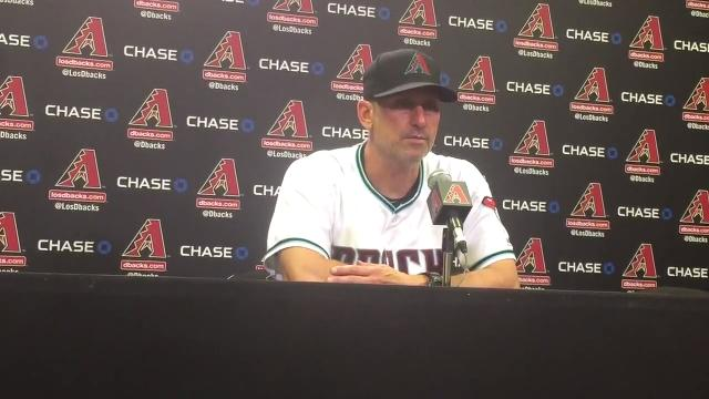 Torey Lovullo on D-Backs' opening loss to Cubs
