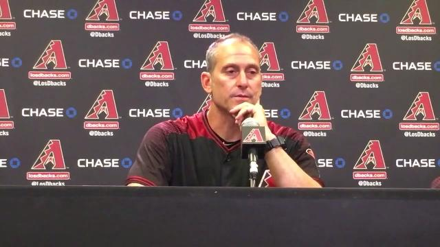 Torey Lovullo on D-Backs' win over Cubs