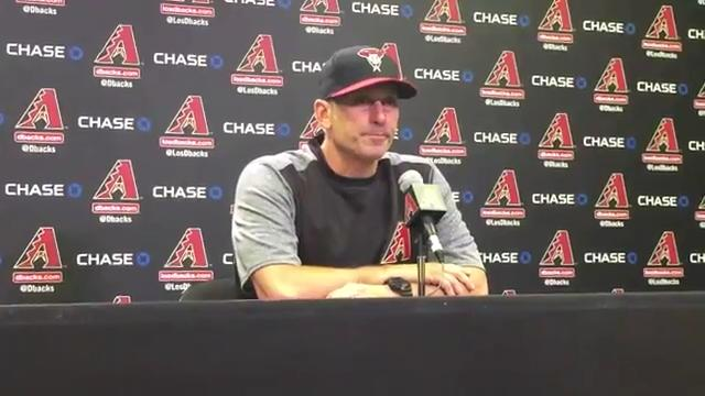 Torey Lovullo on series loss to Cubs
