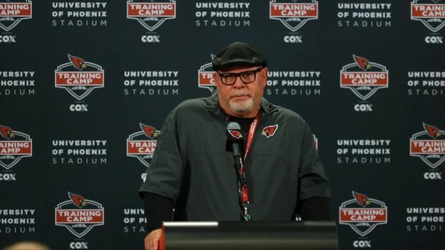 Surly Bruce Arians rips Cardinals receivers