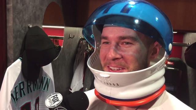 Chris Herrmann on D-Backs' dressing up for Houston