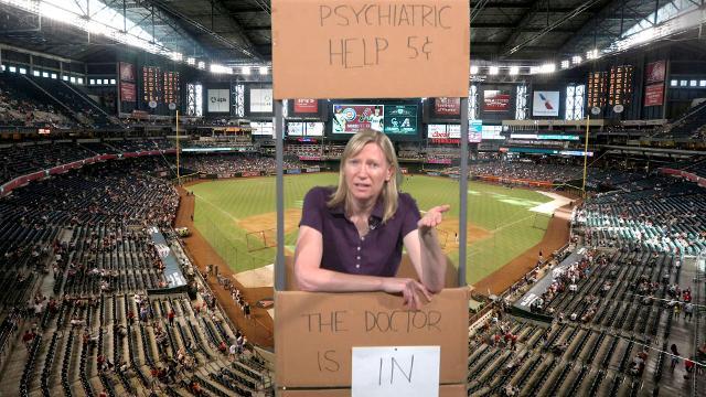 Maricopa County and the Arizona Diamondbacks are having marital problems. Columnist Joanna Allhands dispenses some Peanuts-style advice.