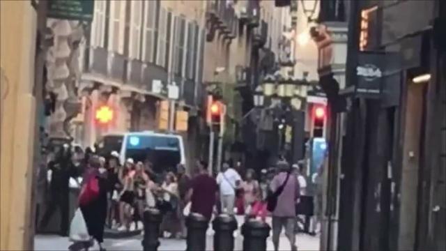 Ataque a peatones en Barcelona deja 13 muertos