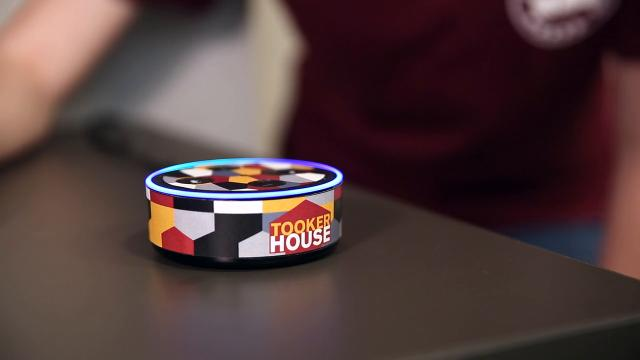 Amazon donated 1,600 Echo Dots – one Alexa-enabled virtual assistant for each student, if they want it – to the university for use in its new Fulton Schools Residential Community at Tooker House. Video by Arizona State University.
