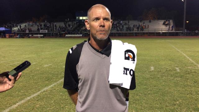 Coach Rich Wellbrock covers his first win at Basha and the transition to 6A.