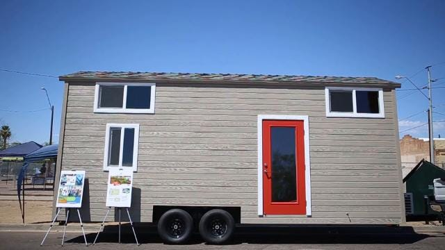 Singleton Community Services is partnering up with Greenlight Solutions to build micro-houses around Arizona to house low-income and homeless veterans.