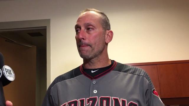 Diamondbacks manager Torey Lovullo said the Twins were grinding out at-bats against Zack Greinke on Saturday night.