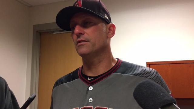 Torey Lovullo after D-Backs are blown out, swept by Twins
