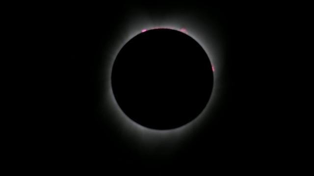 Eclipse total en Oregon, Estados Unidos