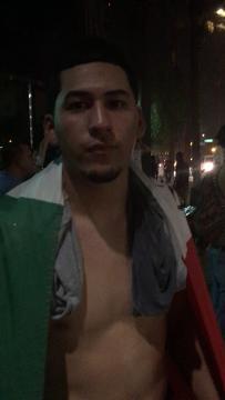 Manifestante en el Centro de Convenciones de Phoenix que estuvo en el epicentro del incidente policiaco, platica lo sucedido,