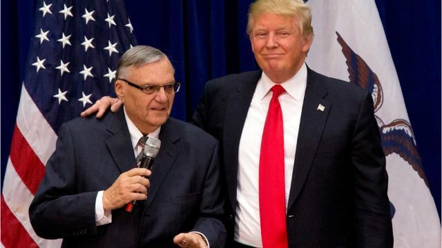 Trump pardons Arpaio