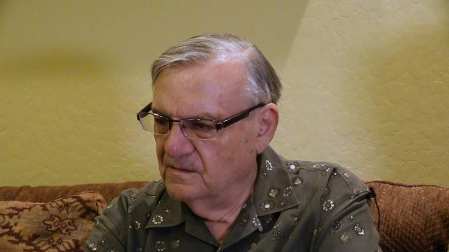 Joe Arpaio talks about President Trump's pardon