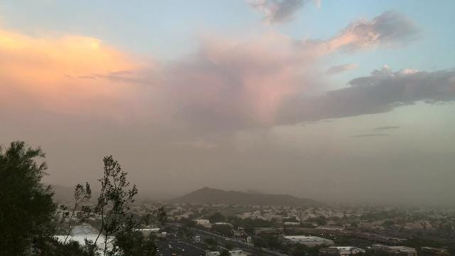 Dust Storm in Ahwatukee