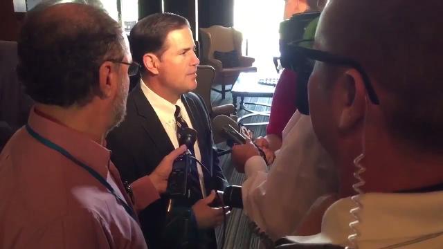 Gov. Ducey talks about Joe Arpaio pardon