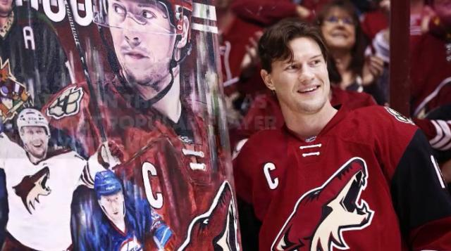 Arizona Coyotes star Shane Doan announced his retirement from the NHL on Wednesday.