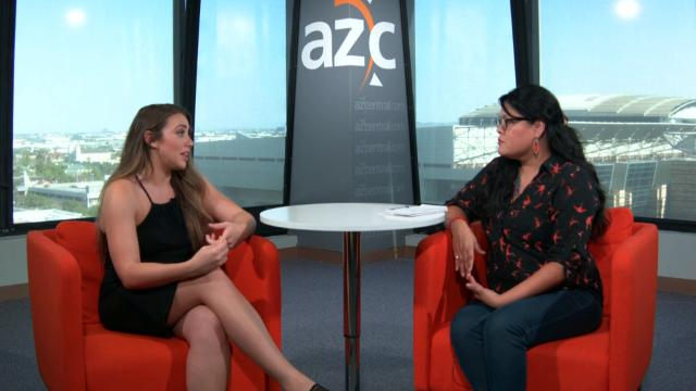 Reporter Dianna M. Náñez interviews Belen Sisa, a DACA recipient and ASU student, about what the requirements are for becoming a DACA recipient.