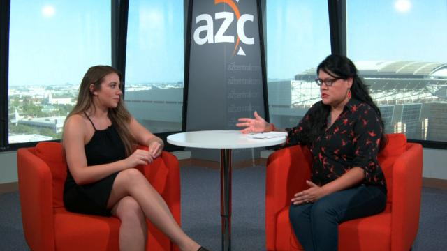 Reporter Dianna M. Náñez interviews Belen Sisa, a DACA recipient and ASU student, about what the DACA is and the difference between DACA and the Dream Act.