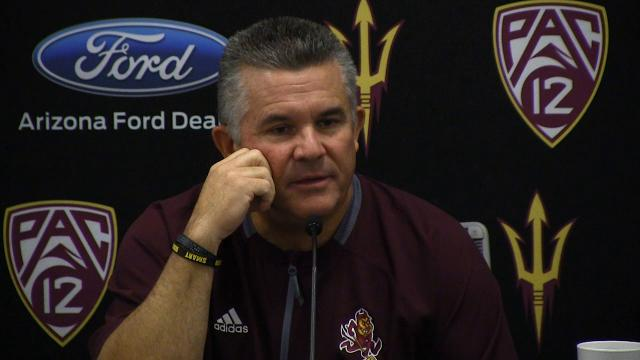 Arizona State head coach Todd Graham talks about needed improvement from week one to week two.