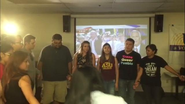 Activists in Phoenix respond to DACA decision
