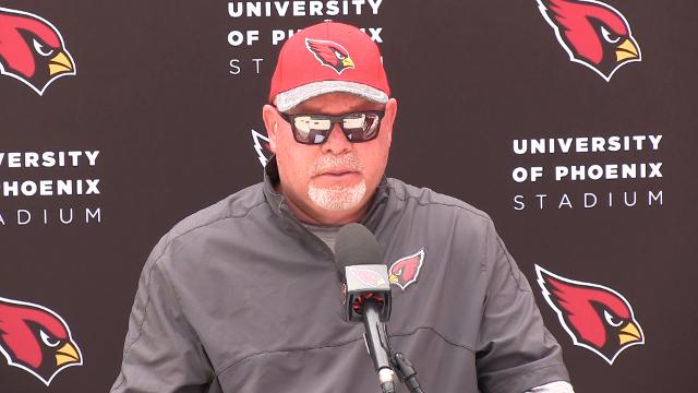 Arizona Cardinals head coach Bruce Arians prepares for his season opener against the Lions.