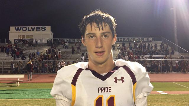 Nick Wallerstedt on Mountain Pointe's upset win over Chandler